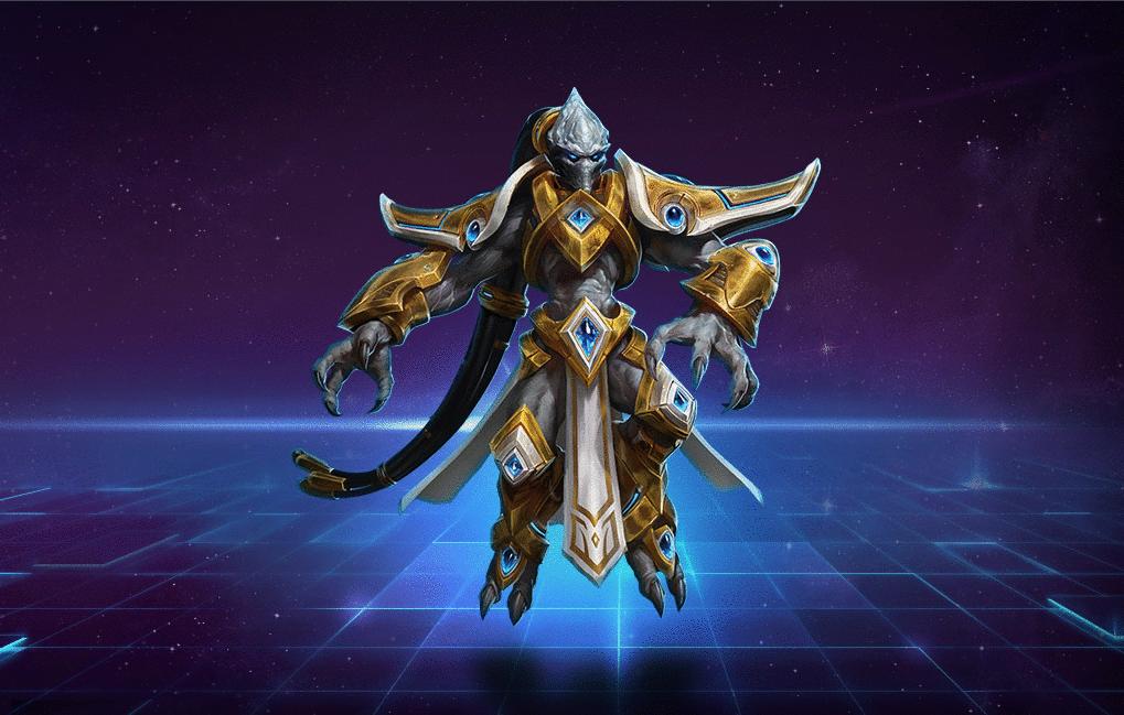Tassadar(塔萨达尔),暴雪开发的即时战略游戏星际争霸(StarCraft)角色。在星际争霸1战役中与主宰同归于尽,但星际争霸2自由之翼战役中再次出现,某种迹象显示他并没有真正的死亡。下面来看一下塔萨达的技能介绍。  塔萨达的Q技能: 塔萨达用护盾保护同伴,使他免收伤害。 塔萨达的W技能: 塔达萨使一个同伴隐形并无敌2秒。 塔萨达的E技能: 塔达萨在目标位置制造穹顶。在穹顶内的敌人都将受到伤害并被减速。 塔萨达的R1技能: 塔达萨在目标位置召唤制造一堵能够阻挡移动的墙。 塔萨达的R2技能: 塔达萨变